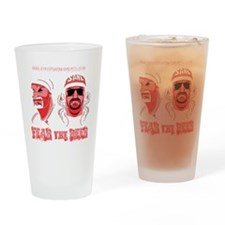 Fear the Beer Drinking Glass