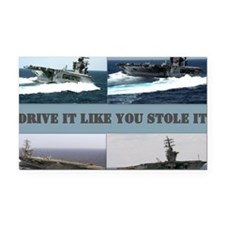 Drive it like you stole it Rectangle Car Magnet