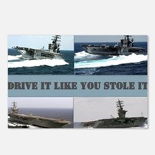 Drive it like you stole i Postcards (Package of 8)