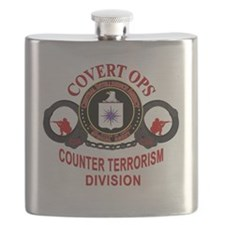 Covert Ops Counter Terrorism Division Flask