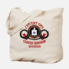 Covert Ops Counter Terrorism Division Tote Bag