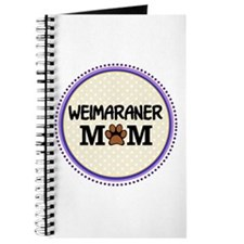 Weimaraner Dog Mom Journal