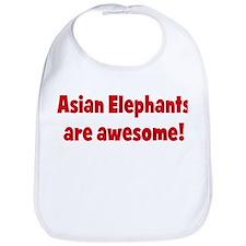 Asian Elephants are awesome Bib