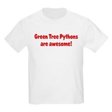 Green Tree Pythons are awesom Kids T-Shirt