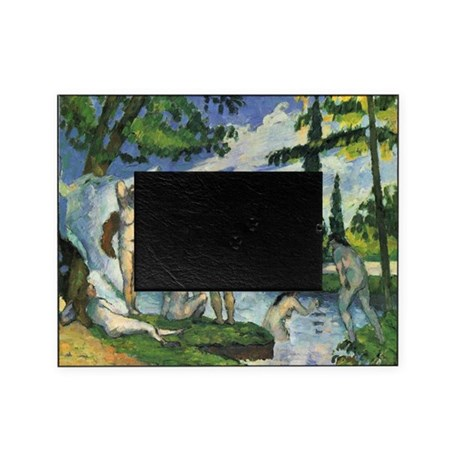 Paul cezanne bathers picture frame by admin cp1030624 for Design your own bathers