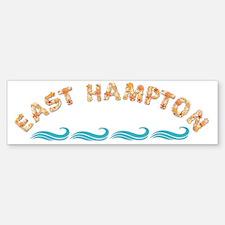 East Hampton Seashells Bumper Bumper Sticker