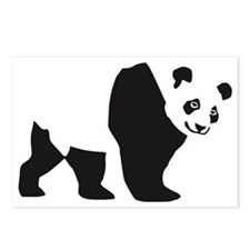 panda bear Postcards (Package of 8)