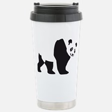 panda bear Stainless Steel Travel Mug
