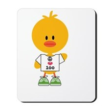 Ultra Chick Peace Love 100 Mousepad
