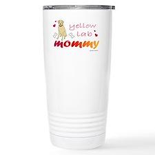 yellow lab Travel Coffee Mug