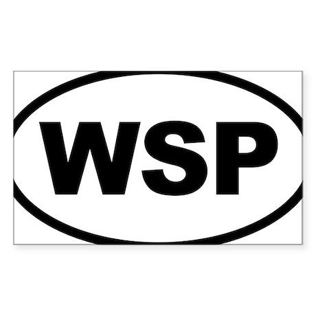 Weird Stinky People Sticker (Rectangle)