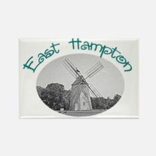 East Hampton Windmill Rectangle Magnet