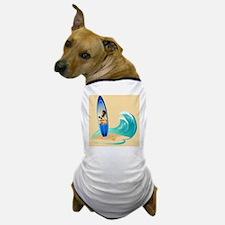 Surfboard Dog T-Shirt