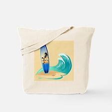 Surfboard Tote Bag