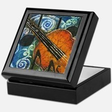 Fiddle Batik Keepsake Box