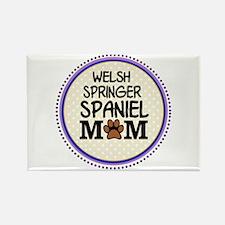Welsh Springer Spaniel Dog Mom Magnets