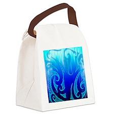 Blue Moko Jandal Canvas Lunch Bag