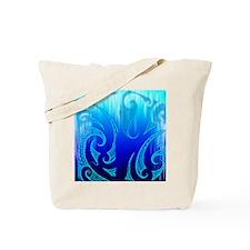 Blue Moko Jandal Tote Bag