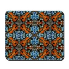 Fiddle Batik Repeat Mousepad
