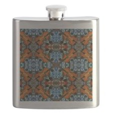 Fiddle Batik Repeat Flask