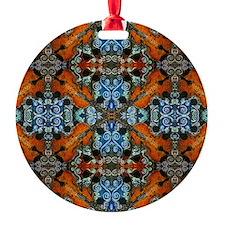 Fiddle Batik Repeat Ornament