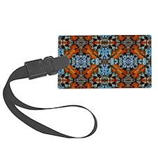 Fiddle Batik Repeat Luggage Tag