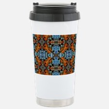 Fiddle Batik Repeat Stainless Steel Travel Mug