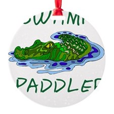 Swamp Paddler Ornament