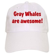 Gray Whales are awesome Baseball Cap