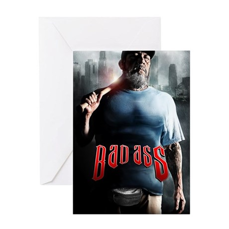 Danny Trejo is BAD ASS Greeting Card