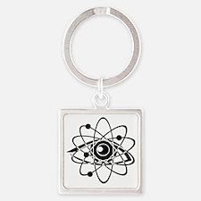 Chemistry_0238 Square Keychain