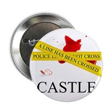 "Castle: A Line Has Been Crossed Polic 2.25"" Button"