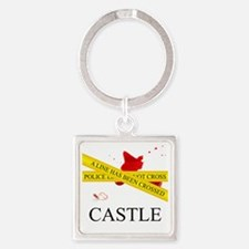 Castle: A Line Has Been Crossed Po Square Keychain