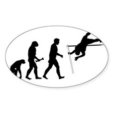 Pole Vaulter Evolution Decal