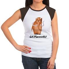 Got Mammoth? Women's Cap Sleeve T-Shirt