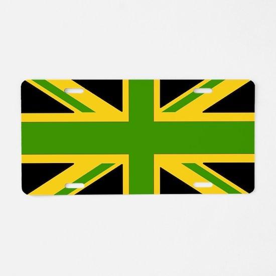 jamaicanUJ Aluminum License Plate