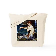 John William Waterhouse Mermaid. Tote Bag