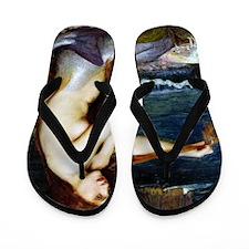 John William Waterhouse Mermaid. Flip Flops