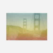 Dreamy Golden Gate Bridge Rectangle Magnet