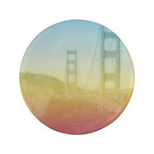 "Dreamy Golden Gate Bridge 3.5"" Button"