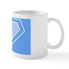 super pillowcase blue j Mug