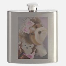 ByCatiaCho Little Monkey Flask