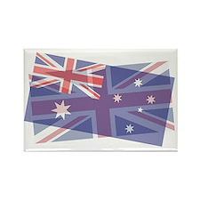 Aussie Union Rectangle Magnet