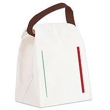 Italy/Italia Flag Canvas Lunch Bag