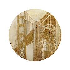 "Vintage Golden Gate Bridge 3.5"" Button"