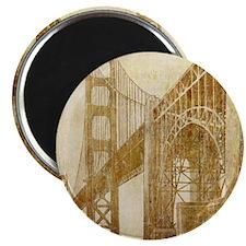 Vintage Golden Gate Bridge Magnet