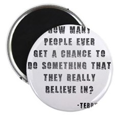 Terry Fox Quote Magnet