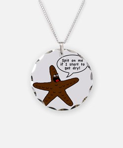 Brown Starfish Necklace