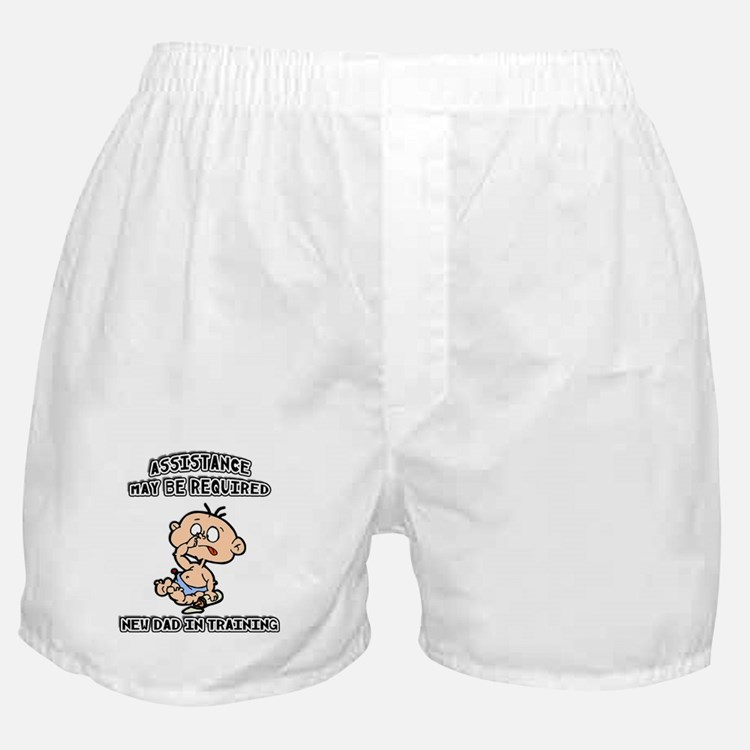 Funny New Father Boxer Shorts