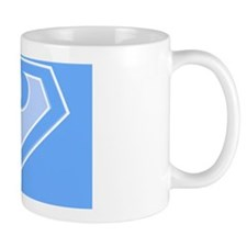 super pillowcase blue p Mug
